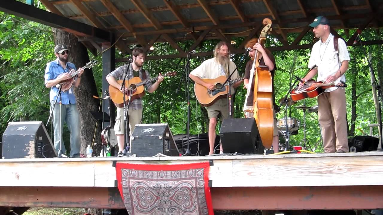 jeff poppen, guitar, barefoot farmer, music festival, stage, band