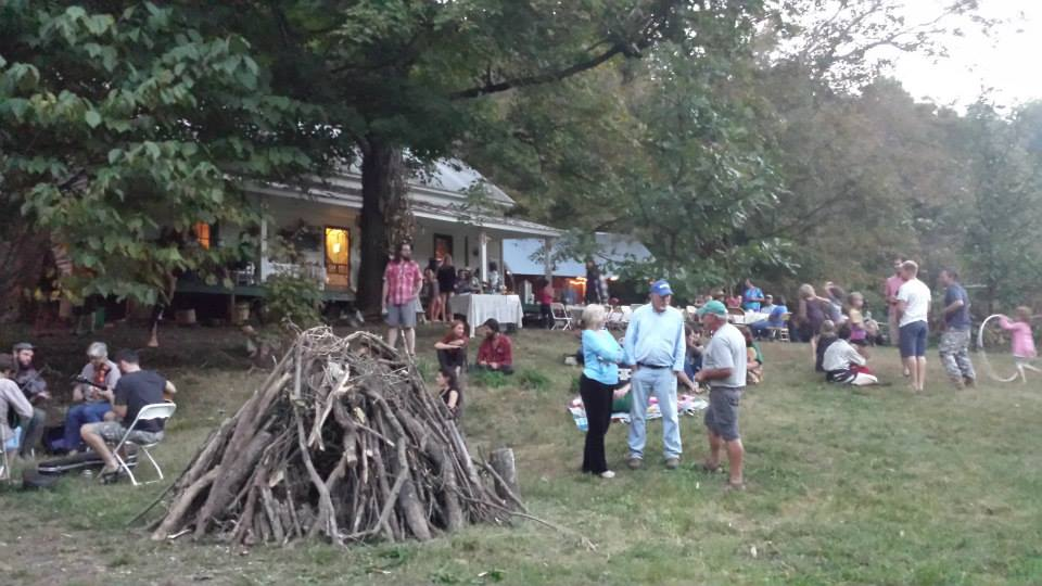 biodynamic conference 2014 pre-bonfire