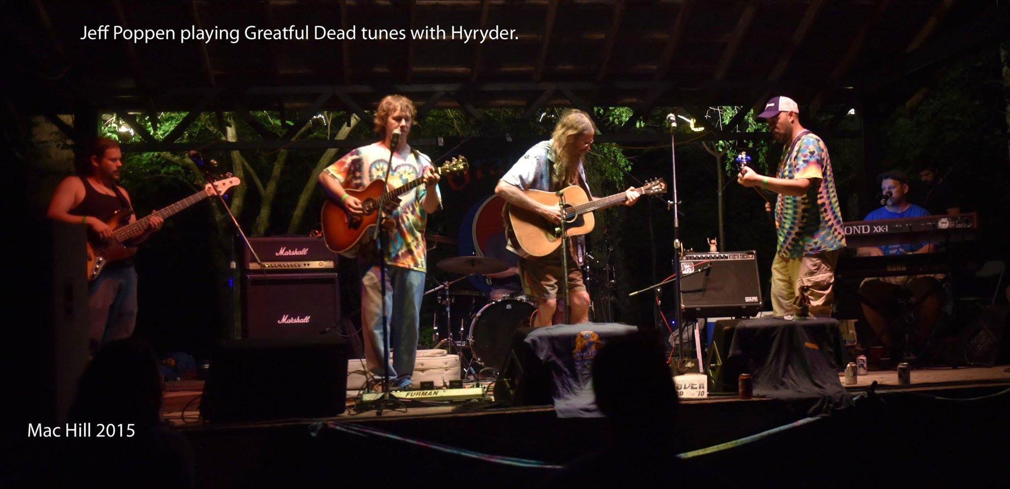 hyryder jeff poppen barefoot farmer music festival
