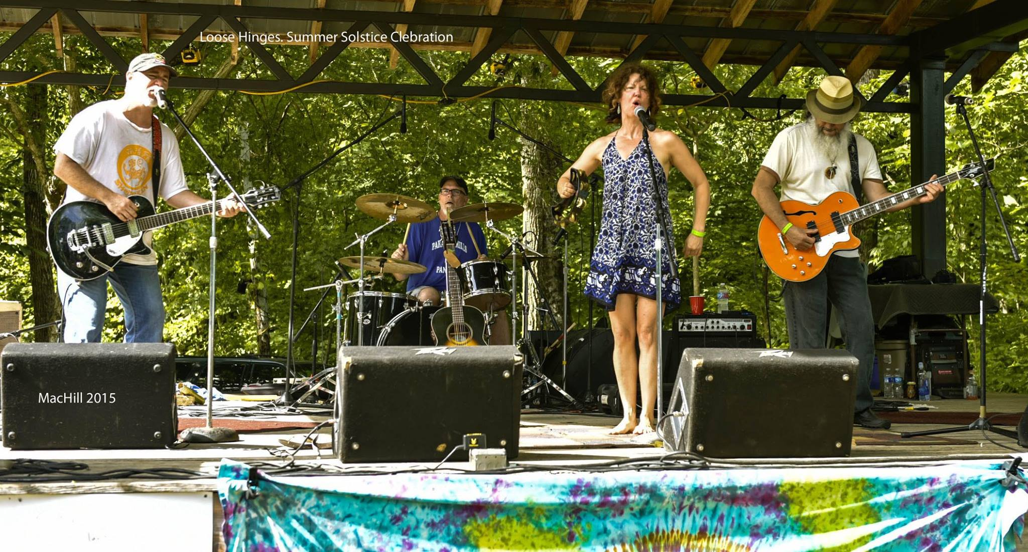 loose hinges, kris houser, music festival, tennesee, barefoot farmer