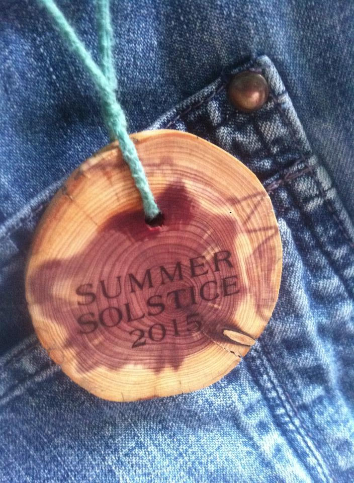 music festival, piece, necklace, wood burning,