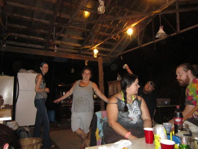 FE music festival kitchen crew 2015