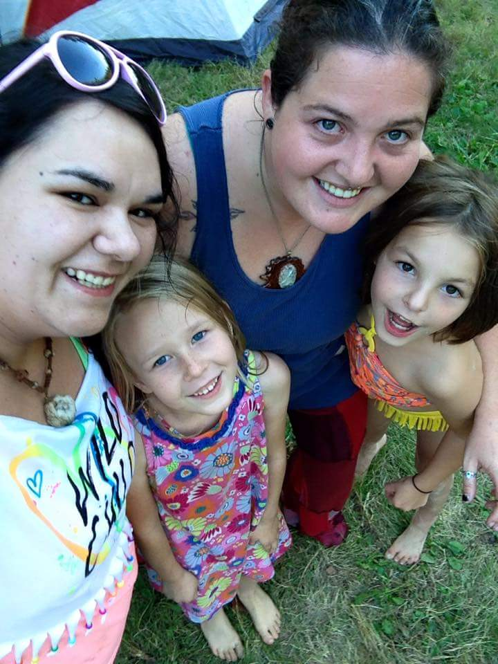 Justine and kids fe 2015 by BJ Leichty