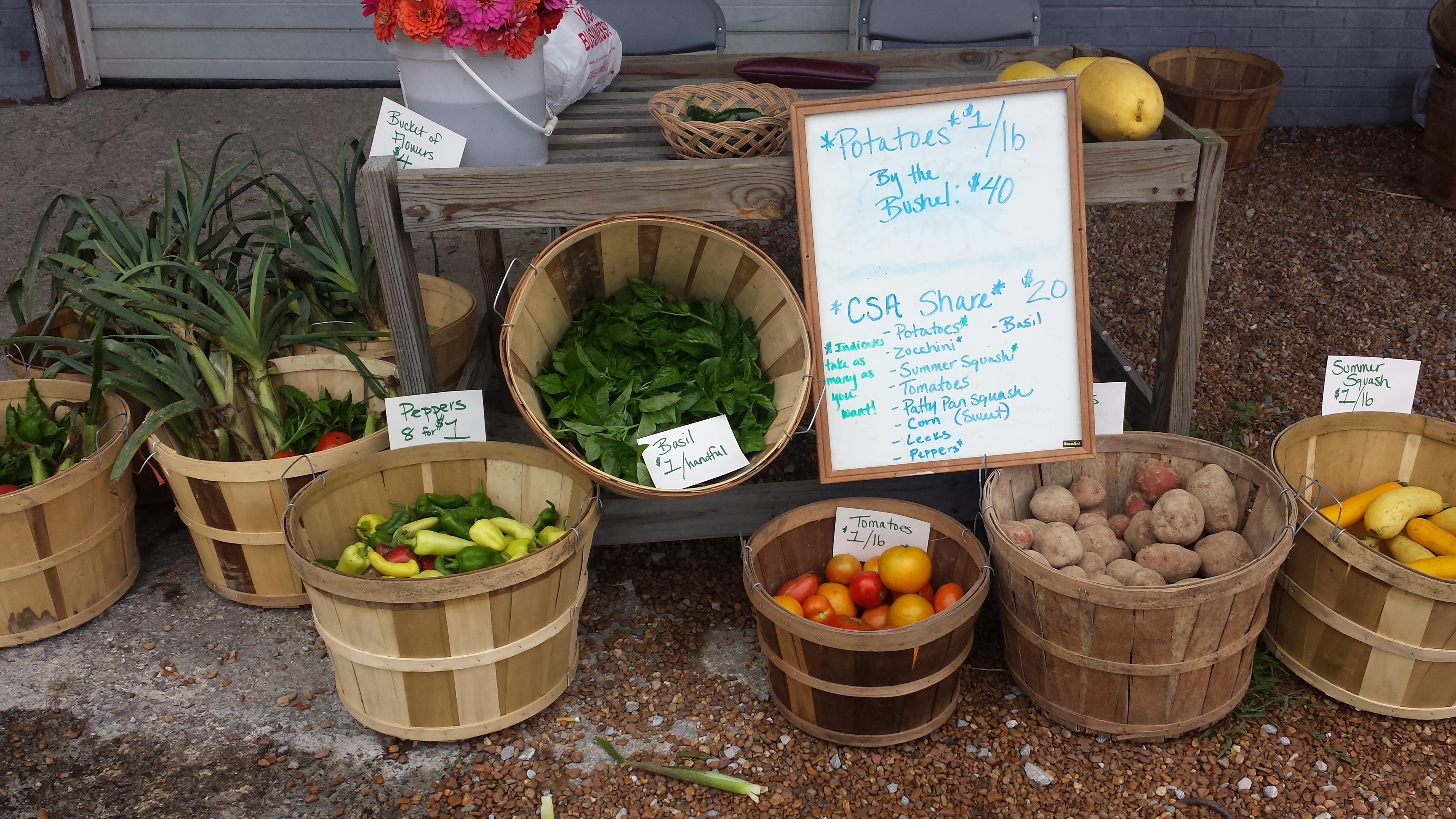 farmers market organic tn