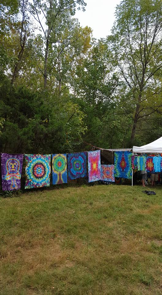 fe music festival 2015 tye dye jesus vendor