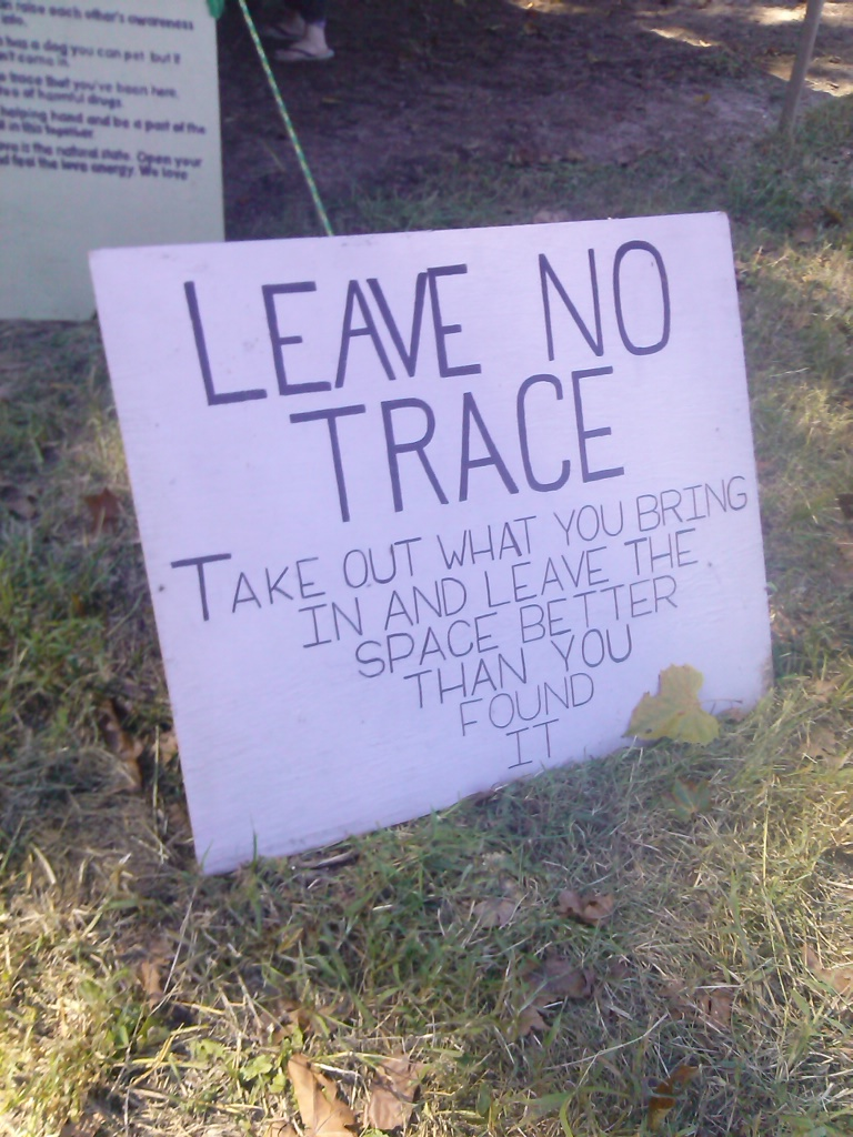 leave no trace by hailey faith fe 2015