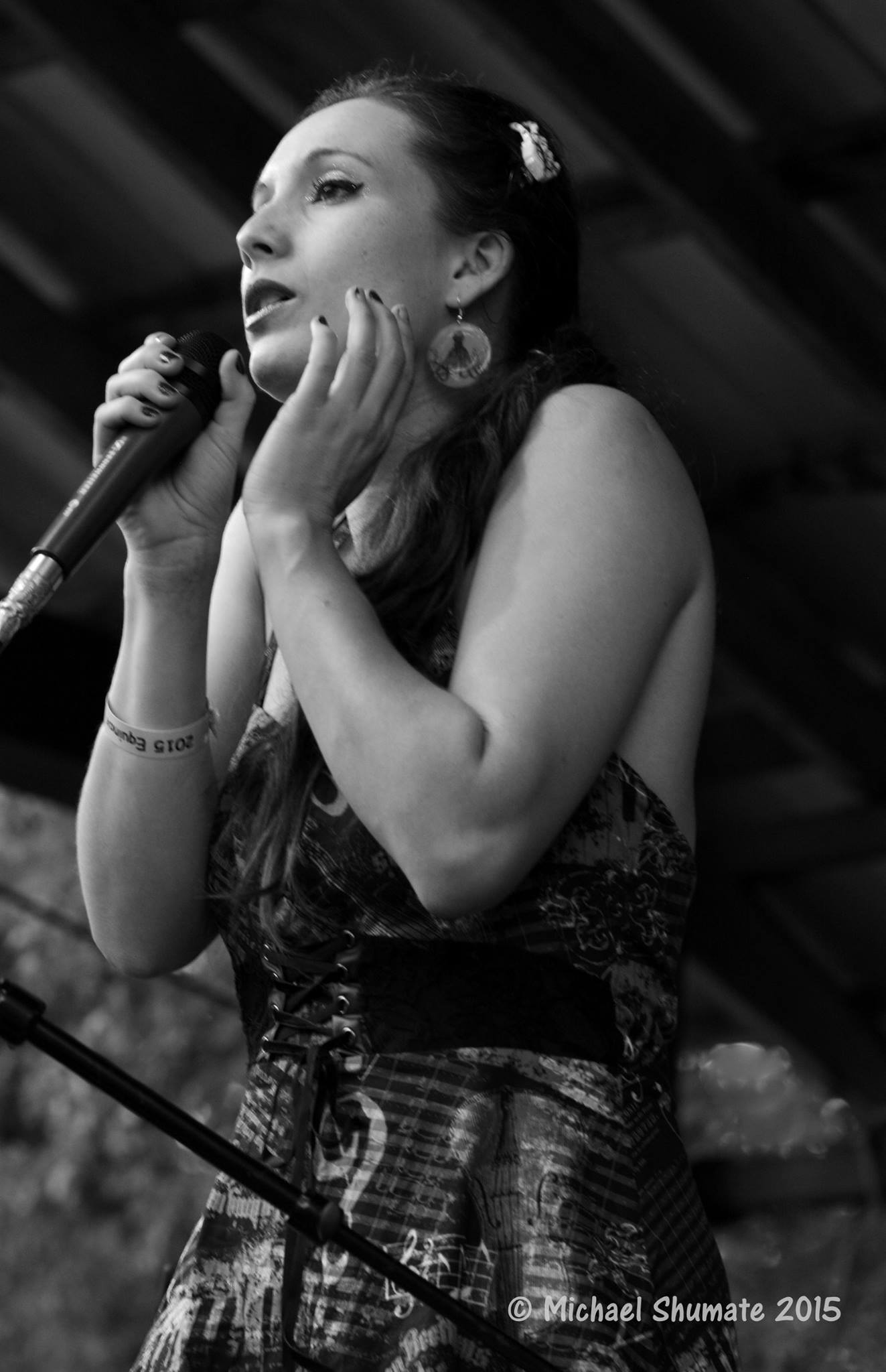 renee is a zombie fe music festival 2015 by Michael shumate