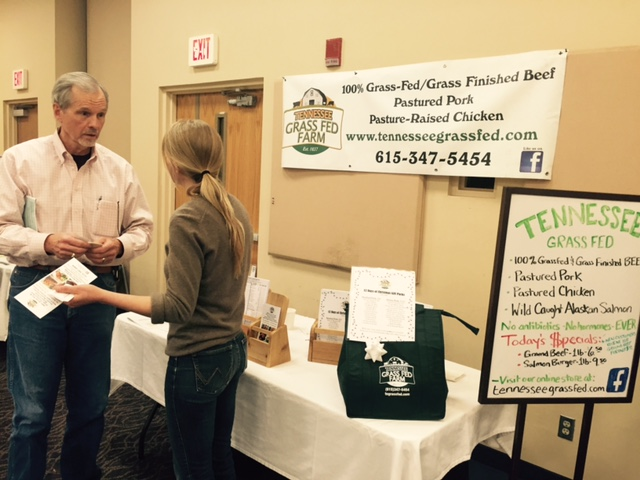 Kristina Rossi and Phil Baggett TN Local food summit 2015